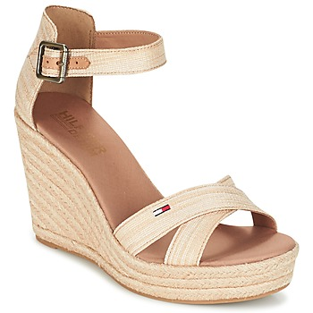 Sapatos Mulher Sandálias Tommy Hilfiger LUNA IDI Ouro