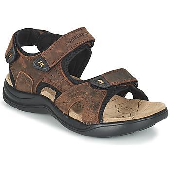 Sapatos Homem Sandálias desportivas Lumberjack EARTH Castanho