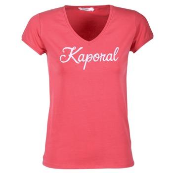 Textil Mulher T-Shirt mangas curtas Kaporal NIAM Rosa