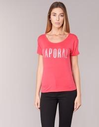 Textil Mulher T-Shirt mangas curtas Kaporal NIZA Rosa