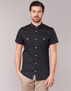Textil Homem Camisas mangas curtas Kaporal RAC Preto