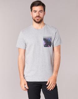 Textil Homem T-Shirt mangas curtas Billabong TRANSMIT TEE Cinza