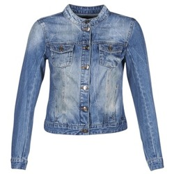 Textil Mulher casacos de ganga DDP DASTIONA Azul