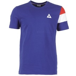 Textil Homem T-Shirt mangas curtas Le Coq Sportif BLUREA Azul