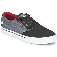 Sapatos Homem Sapatilhas Etnies JAMESON 2 ECO Preto / Cinza / Vermelho