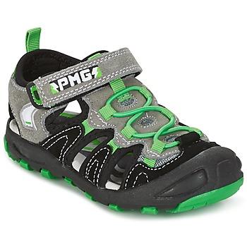 Sapatos Rapaz Sandálias Primigi CROSS Preto / Verde