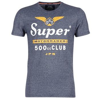 Textil Homem T-Shirt mangas curtas Superdry 500 CLUB MOTORRADER Cinza
