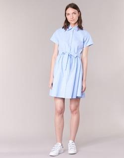 Textil Mulher Vestidos curtos Compania Fantastica EBLEUETE Azul / Céu