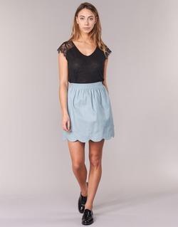 Textil Mulher Saias Compania Fantastica EFESTONA Azul / Céu