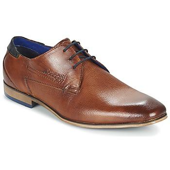 Sapatos Homem Sapatos Bugatti CALETTE Conhaque
