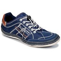 Sapatos Homem Sapatilhas Bugatti LAMETE Marinho