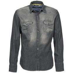 Textil Homem Camisas mangas comprida Meltin'pot CAREY Cinza