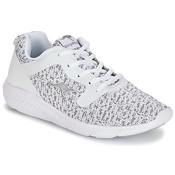 Sapatos Mulher Sapatilhas Kangaroos KV 2 Branco / Cinza