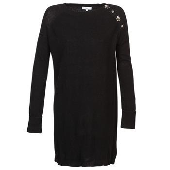 Textil Mulher Vestidos curtos Suncoo CHARLIE Preto
