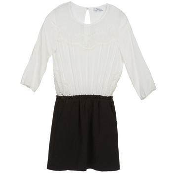 Textil Mulher Vestidos curtos Suncoo CELESTINE Preto / Branco