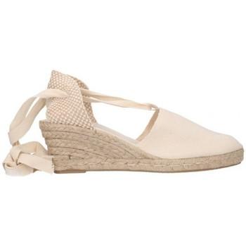 Sapatos Homem Alpargatas Fernandez VALENC. CINTAS Mujer Beige beige