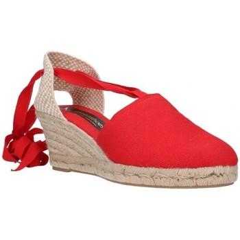 Sapatos Homem Alpargatas Fernandez VALENC. CINTAS Mujer Rojo rouge