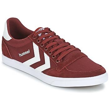 Sapatos Sapatilhas Hummel STADIL CANEVAS LOW Bordô