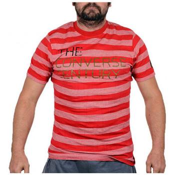 Textil Homem T-Shirt mangas curtas Converse  Vermelho