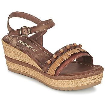 Sapatos Mulher Sandálias Samoa MOLAY Castanho
