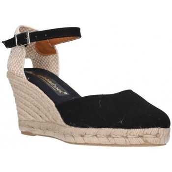 Sapatos Mulher Alpargatas Fernandez 682       7c Mujer Negro noir