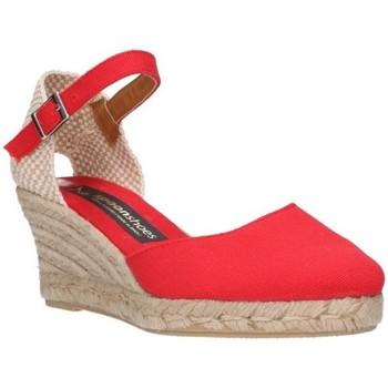 Sapatos Mulher Alpargatas Fernandez 682  5c Mujer Rojo rouge
