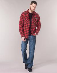 Textil Homem Calças de ganga bootcut Levi's 527 LOW BOOT CUT Azul