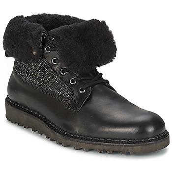 Sapatos Homem Botas baixas Nobrand STREET Preto
