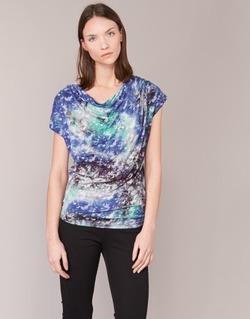 Textil Mulher Tops / Blusas Smash SUIRIRI Azul / Verde