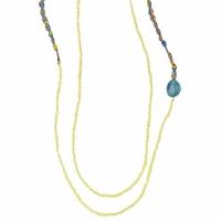 Relógios & jóias Mulher Colar Zaza Factory INDIEN Amarelo