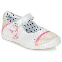 Sapatos Rapariga Sabrinas Catimini PIPISTRELLE Prateado / Coral