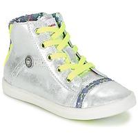 Sapatos Rapariga Sapatilhas de cano-alto Catimini PARULINE Prateado