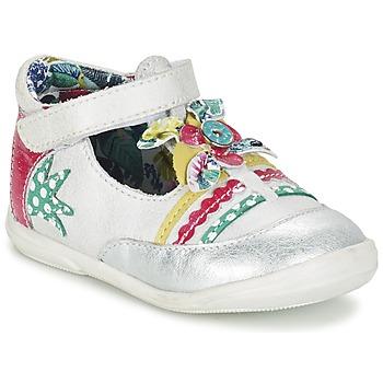 Sapatos Rapariga Sabrinas Catimini PANTHERE Branco / Prateado