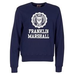 Textil Homem Sweats Franklin & Marshall NESS OFRA Marinho