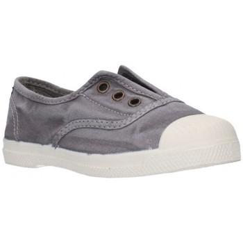 Sapatos Rapaz Sapatilhas Natural World 470E Niño Gris gris