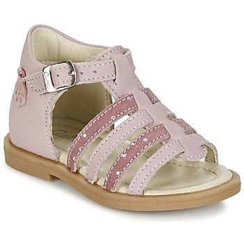 Sapatos Rapariga Sandálias Aster MINIONE Rosa