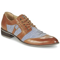 Sapatos Homem Sapatos Kdopa AGADIR Camel / Azul