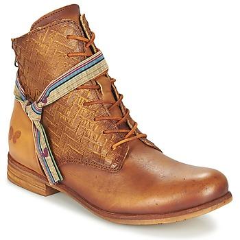 Sapatos Mulher Botas baixas Felmini MOSTAZA Camel