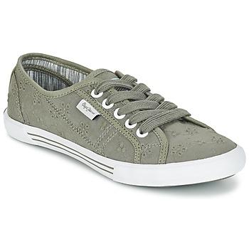 Sapatos Mulher Sapatilhas Pepe jeans ABERLADY ANGLAISE Cinza