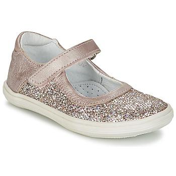 Sapatos Rapariga Sabrinas GBB PLACIDA Rosa / Ouro