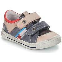 Sapatos Rapaz Sapatilhas GBB PHIL Cinza / Azul
