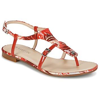 Sapatos Mulher Sandálias JB Martin GAELIA Vermelho / Tropical