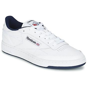 Sapatos Homem Sapatilhas Reebok Classic CLUB C 85 Branco / Azul