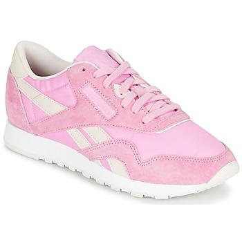 Sapatos Mulher Sapatilhas Reebok Classic CL NYLON X FACE Rosa