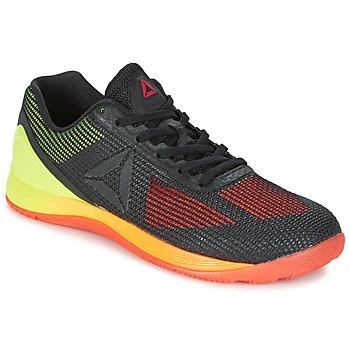 Sapatos Homem Fitness / Training  Reebok Sport R CROSSFIT NANO 7.0 Preto / Verde
