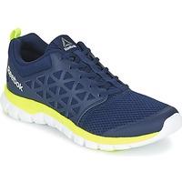 Sapatos Homem Fitness / Training  Reebok Sport SUBLITE XT CUSHION Azul / Amarelo