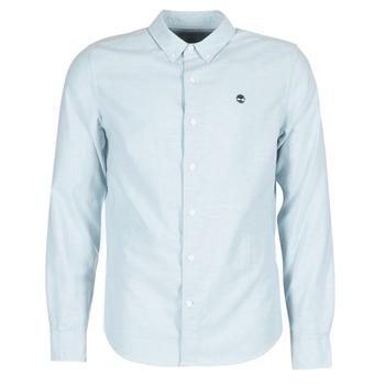 Textil Homem Camisas mangas comprida Timberland LS RATTLE RIVER OXFORD SHIRT SLIM Azul