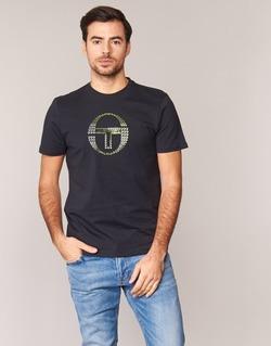 Textil Homem T-Shirt mangas curtas Sergio Tacchini DAVE TEE-SHIRT Preto