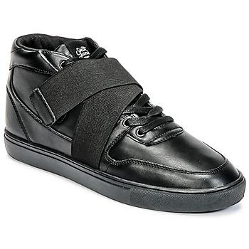 Sapatos Homem Sapatilhas de cano-alto Sixth June NATION STRAP Preto