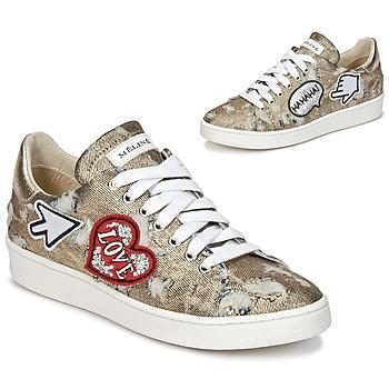 Sapatos Mulher Sapatilhas Meline QOLI Dourado